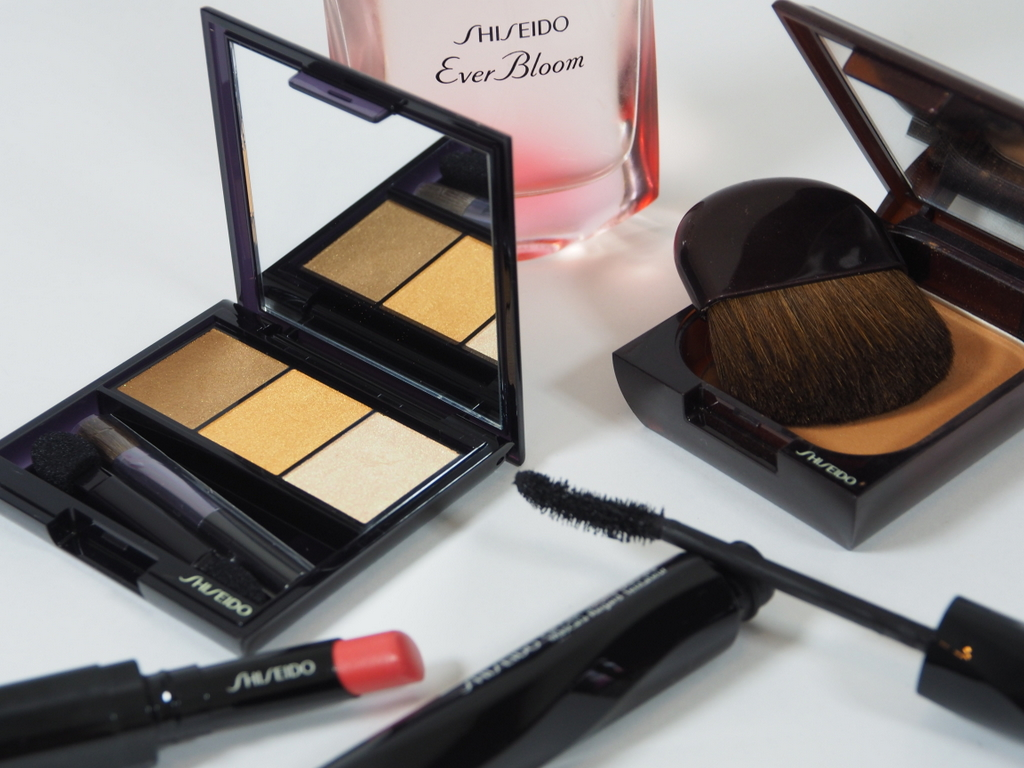 Farverig øjenskyggetrio fra Shiseido: Luminizing Satin Eye Color Trio