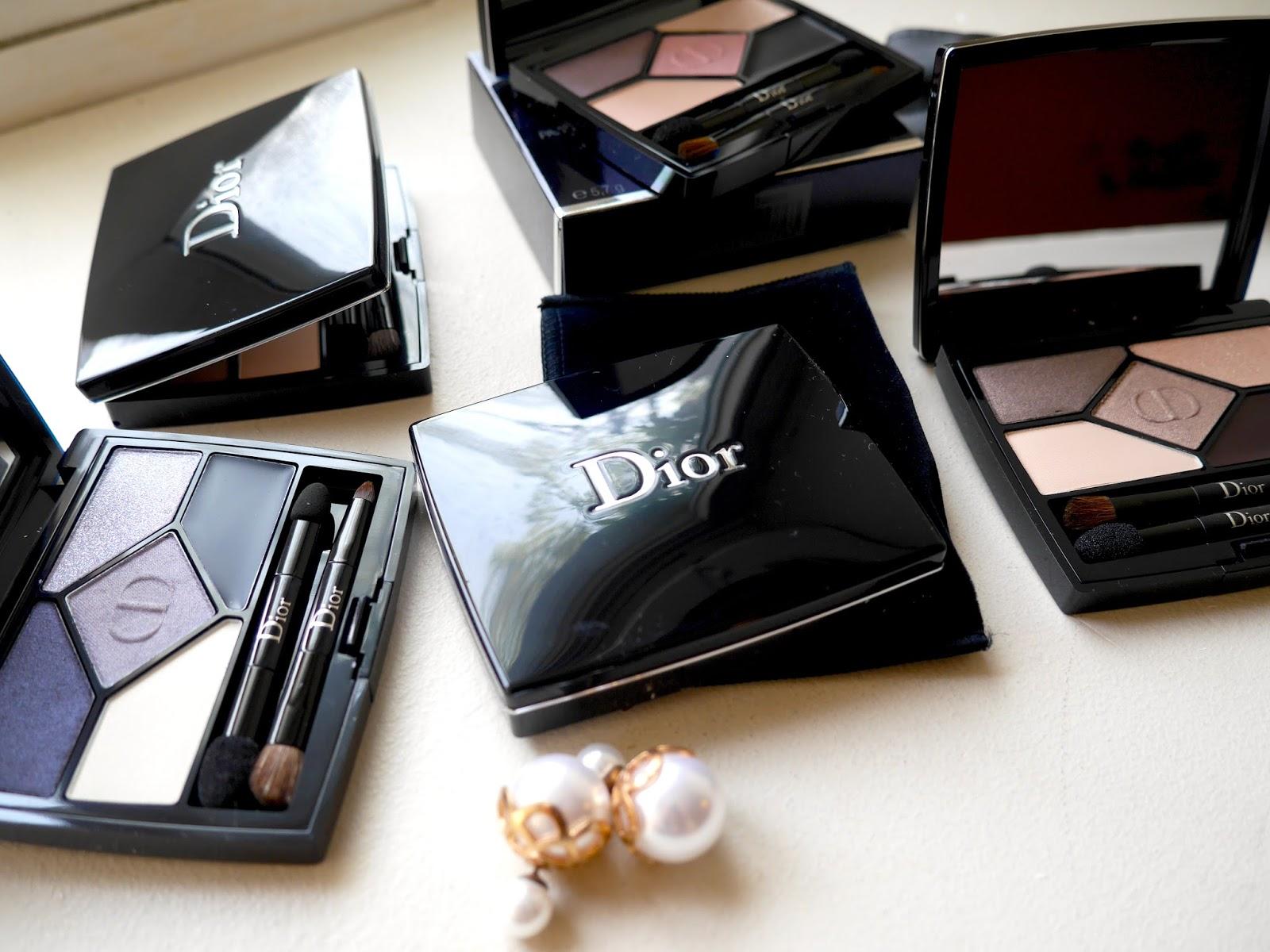 Nye øjenskyggepaletter fra Christian Dior