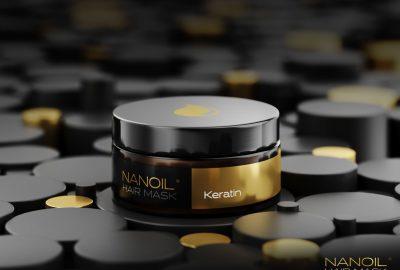 Nanoil effektiv maske med keratin