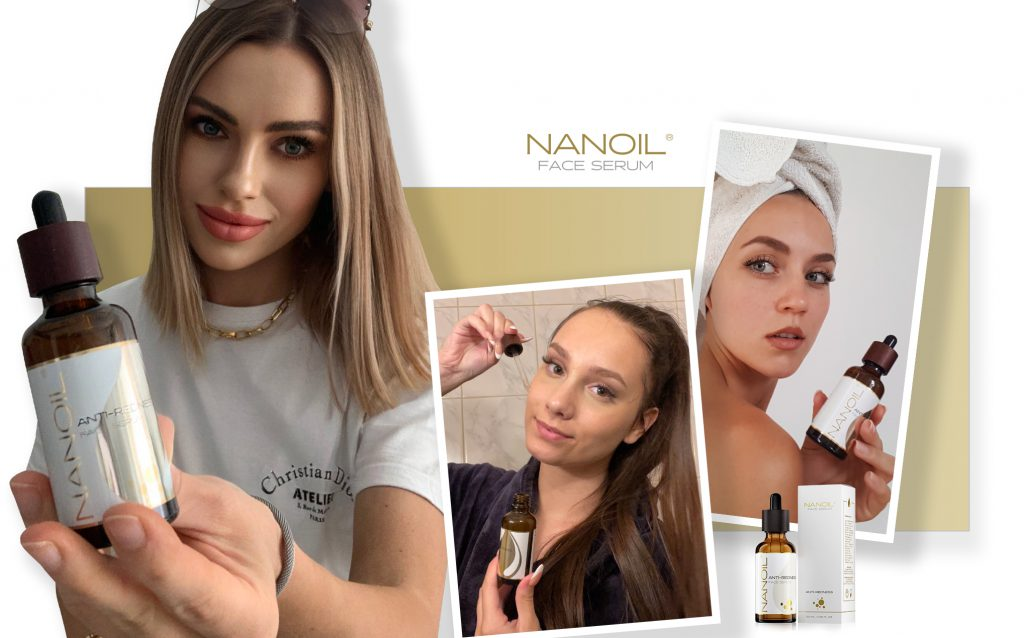 topbedømt anti-rødme ansigtsserum Nanoil